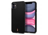 Husa TPU Spigen Ciel Wave Shell pentru Apple iPhone 11, Neagra, Blister