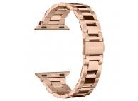 Curea Ceas Spigen Modern Fit pentru Apple Watch 1/2/3/4/5 (38/40mm), Roz-Aurie, Blister