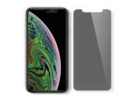 Folie Protectie Ecran Spigen pentru Apple iPhone 11, Sticla securizata, Privacy, cu rama pentru montaj, Blister