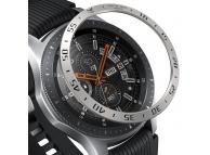Kit personalizare Ringke Bezel pentru Samsung Galaxy Watch 46mm/Gear S3 fronter/Gear S3 Classic, Argintiu, Blister   RGSG0001