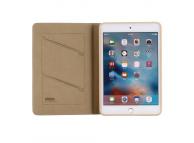 Husa Tableta Piele - TPU Gebei cu suport carduri pentru Apple iPad mini (2019), Aurie, Bulk