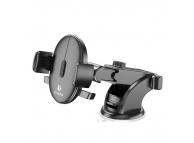 Suport Auto Universal pentru Telefon Floveme 360, Suction Cup, Negru, Blister