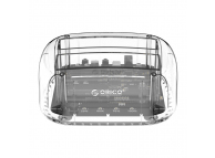 Cititor HDD 2.5 / 3.5 inch ORICO 6239U3, USB 3.0, Transparent, Blister