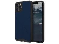 Husa TPU - Textil UNIQ Transforma Rigor Apple iPhone 11 Pro Max, Bleumarin, Blister