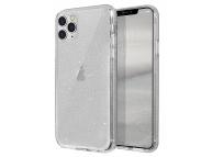 Husa Plastic - TPU UNIQ Lifepro Tinsel Apple iPhone 11 Pro Max, Transparenta, Blister