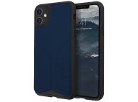 Husa TPU - Textil UNIQ Transforma Rigor Apple iPhone 11, Bleumarin, Blister