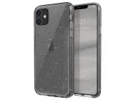 Husa Plastic - TPU UNIQ Lifepro Tinsel Apple iPhone 11, Gri, Blister
