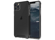 Husa Plastic - TPU UNIQ Combat Antisoc pentru Apple Iphone 11 Pro, Neagra, Blister