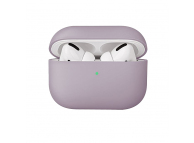 Husa TPU pentru Apple Airpods 1 / 2 Uniq Lino, Albastra, Blister