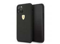 Husa TPU Ferrari SF pentru Apple iPhone 11 Pro, Neagra, Blister FESSIHCN58BK