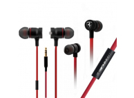 Handsfree Casti Ferrari Training, 3.5 mm, Rosu, Blister FETEPWIRE