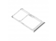 Suport Card - Suport SIM Argintiu Xiaomi Redmi Note 8 Pro