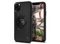 Husa Plastic Spigen Gcf111 Bike Mount pentru Apple iPhone 11 Pro Max, Neagra, Blister