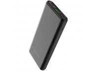 Baterie Externa Powerbank Borofone BT30 Dynamic, Power Delivery PD 18W + Quick Charge 3.0 18W, 10000 mA, USB Type-C + 2 x USB, Neagra, Blister