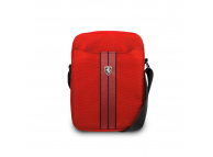 Geanta textil Ferrari Urban Collection, 8 inci, Rosu FEURSH8RE