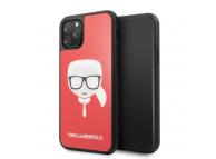 Husa TPU Karl Lagerfeld pentru Apple iPhone 11 Pro, Layers Glitter, Rosie, Blister KLHCN58DLHRE