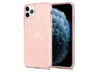 Husa TPU Spigen Liquid Crystal Glitter Quartz pentru Apple iPhone 11 Pro Max, Roz 075CS27132