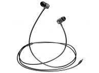 Handsfree Casti In-Ear Usams EP-38 Electroplating, Cu microfon, 3.5 mm, Negru, Blister HSEP3802