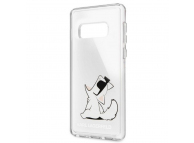 Husa Plastic Karl Lagerfeld pentru Samsung Galaxy S10 G973, Fun No Rope, Transparenta, Blister KLHCS10CFNRC