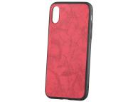 Husa Piele - Plastic OEM Business pentru Samsung Galaxy A10 A105, Rosie, Blister