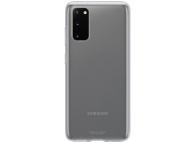 Husa TPU Samsung Galaxy S20, Clear Cover, Transparenta, Blister EF-QG980TTEGEU
