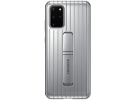 Husa Plastic Samsung Galaxy S20 Plus G985 / Samsung Galaxy S20 Plus 5G G986, Standing, Argintie EF-RG985CSEGEU