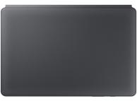 Husa Tableta Samsung Galaxy Tab S6 T860, Bookcover Keyboard, Gri, Blister EF-DT860UJEGWW