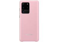 Husa TPU Samsung Galaxy S20 Ultra, Led Cover, Roz, Blister EF-KG988CPEGEU