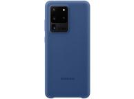Husa TPU Samsung Galaxy S20 Ultra G988 / Samsung Galaxy S20 Ultra 5G G988, Bleumarin EF-PG988TNEGEU