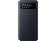 Husa Samsung Galaxy S10 Lite G770, S View Wallet, Neagra, Blister EF-EG770PBEGEU