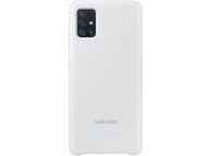 Husa TPU Samsung Galaxy A51, Alba, Blister EF-PA515TWEGEU