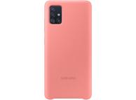 Husa TPU Samsung Galaxy A71, Roz, Blister EF-PA715TPEGEU