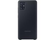 Husa TPU Samsung Galaxy A71, Neagra, Blister EF-PA715TBEGEU