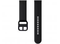 Curea Ceas Renaissance FKM Sport Strap pentru Samsung Galaxy Watch Active 2, Neagra, Blister, ET-SFR82MBEGWW