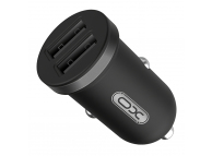 Incarcator Auto USB XO Design CC-18, 2.1A, 2 X USB, Negru, Blister