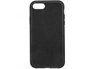 Husa Biodegradabila Forever Bioio pentru Apple iPhone 7 / Apple iPhone 8, Neagra, Blister