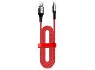 Cablu Date si Incarcare USB la USB Type-C Usams SJ320, Fast Charging, 2 m, Rosu, Blister