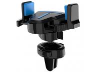 Suport Auto Universal Borofone BH1 EZDock Air vent one touch, Albastru - Negru, Blister
