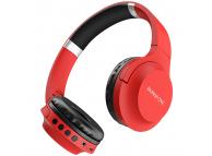 Handsfree Casti Bluetooth Borofone BO6 Poise Rhyme Over-Ear, Rosu, Blister