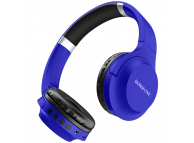 Handsfree Casti Bluetooth Borofone BO6 Poise Rhyme Over-Ear, Albastru, Blister