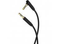 Cablu Audio 3.5 mm la 3.5 mm Borofone BL5, cu microfon si controller comenzi, 1 m, Negru, Blister