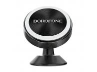Suport Auto Universal Borofone BH5 Platinum Metal magnetic, Negru, Blister