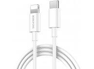 Cablu Date si Incarcare USB Type-C la Lightning Borofone BX36 Union PD, 1 m, Alb, Blister