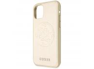 Husa Plastic - TPU Guess Iridescent pentru Apple iPhone 11 Pro, Aurie, Blister GUHCN58RSSASGO