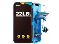 Folie Protectie Ecran ESR pentru Apple iPhone X / Apple iPhone XS, Sticla securizata, Full Face, Full Glue, Neagra, Blister