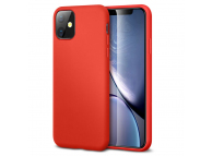 Husa TPU ESR Yippee Pure Silicone pentru Apple iPhone 11, Rosie, Blister