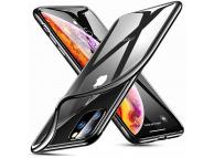 Husa TPU ESR Essential Crown pentru Apple iPhone 11 Pro, Neagra Transparenta, Blister