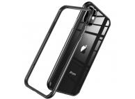 Husa Plastic - TPU ESR Edge Guard pentru Apple iPhone 11, Neagra Transparenta, Blister