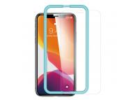 Folie Protectie Ecran ESR pentru Apple iPhone 11, Sticla securizata, Shield 2.5D, 0.3mm, Blister