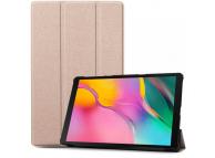 Husa Tableta TPU Tech-Protect SmartCase pentru Samsung Galaxy Tab S5e, Roz Aurie, Bulk